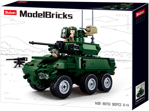 Sluban - Armored vehicle M38-B0753