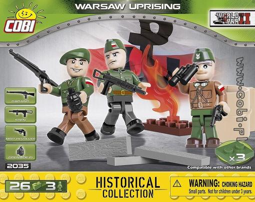 Cobi 2035 - Warsaw Uprising Soldiers