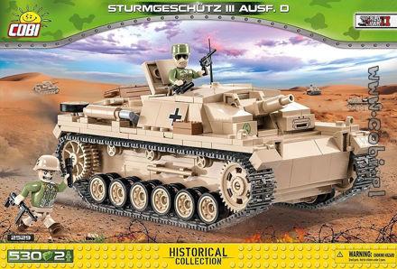 COBI WW2 2529 Sturmgeschütz III Ausf. D