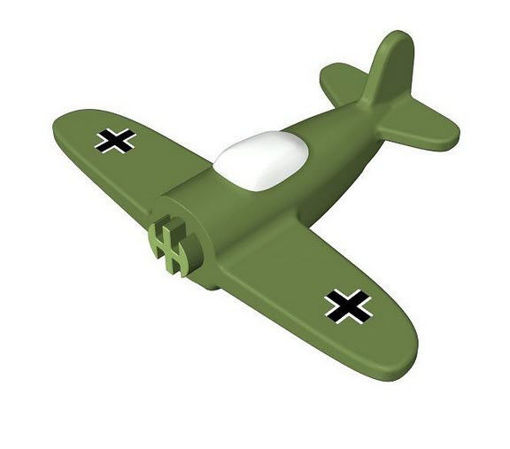COBI -  Airplane with printing 1:300 Military green