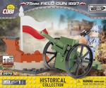 COBI Great War 2979 75 mm feltkanon 1897 - fransk feltkanon