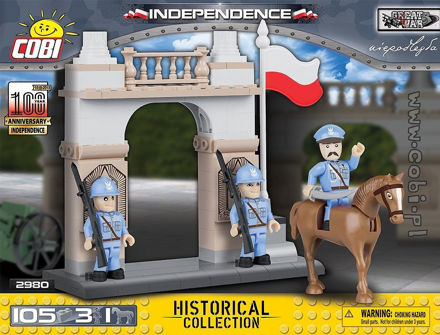 COBI Great War 2980 Independence Historicall Collection