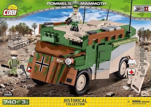 COBI WW2 2525 Rommel's Mammoth