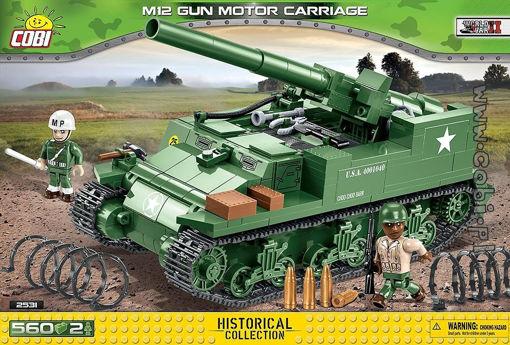 COBI WW2 25231 M12 Gun Motor Carriage
