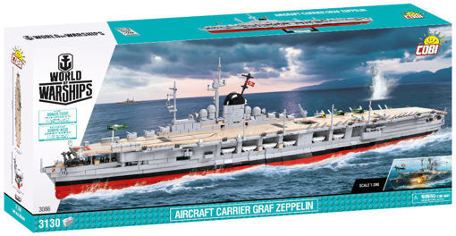 COBI World of Warships 3086 Aircraft Carrier Graf Zeppeliner