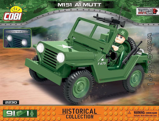 COBI-2230 M151 ( Ford MUTT ) - American light military off-road car.