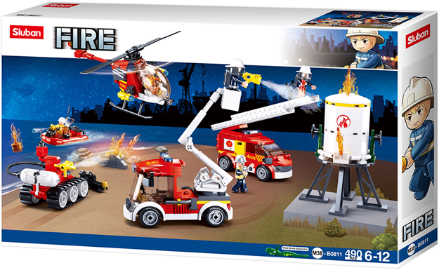 Sluban M38-B0811 - Firefighter set