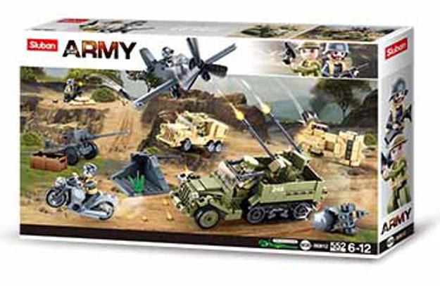 Sluban M38-B0812 - WWII Army set