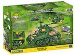 COBI WW2 2533- M4A3E8 Sherman Easy Eight