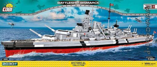 Small Army  WW2 COBI-4819 - Bismarck Battleship