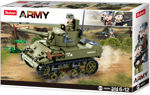 Sluban WWII M38-0856 Allieret let kampvogn
