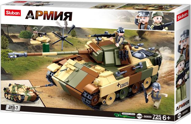 Sluban WWII M38-0859 Medium Tysk Tank