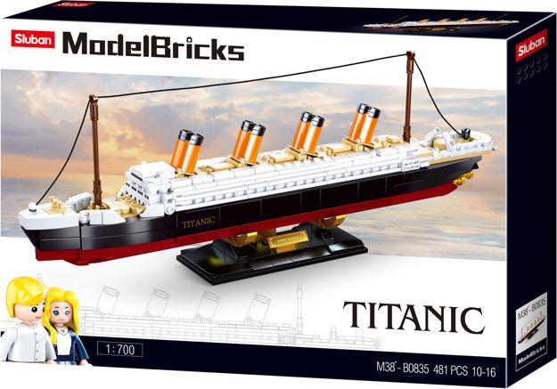 Titanic mellem, Sluban Titanic Middle M38-B0835