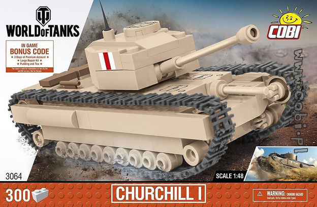 World of Tanks COBI-3064 Churchill I