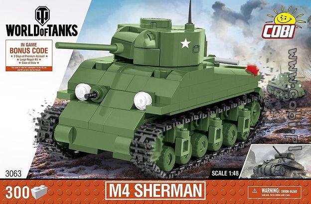 World of Tanks COBI-3063 M4 Sherman