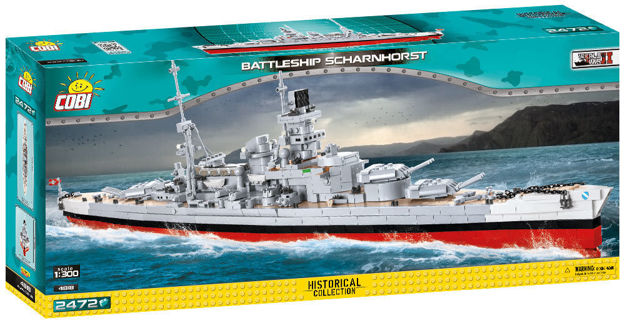 Small Army WW2 COBI-4818 - Scharnhorst battleship