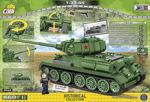 COBI WW2 2542 - T-34/85
