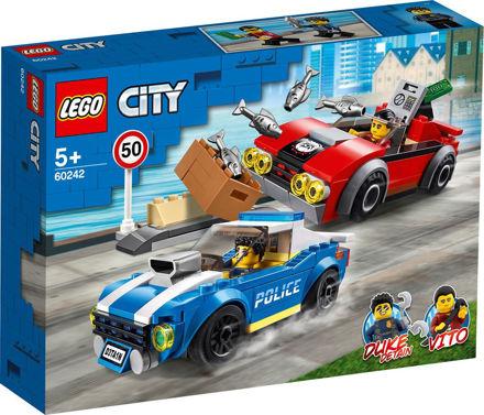 LEGO City 60242 Anholdelse i trafikken