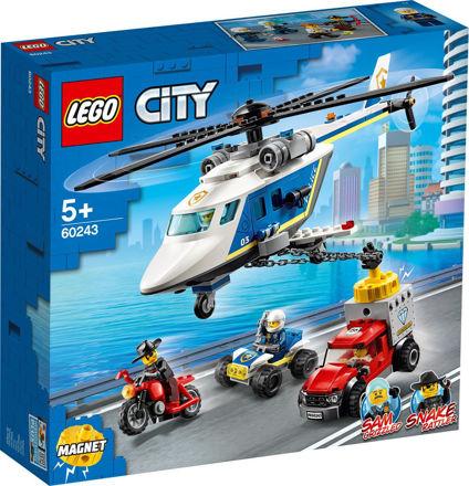 LEGO City 60243 Politihelikopterjagt