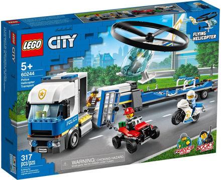 LEGO City 60244 Politihelikoptertransport