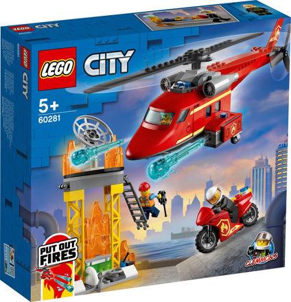 LEGO City 60281 Brandvæsnets redningshelikopter