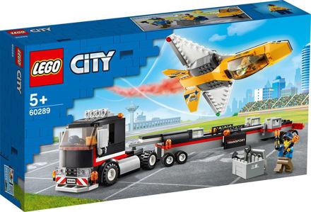 LEGO City 60289 Luftshowjet-transporter