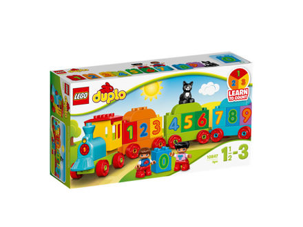 LEGO DUPLO 10847 Tog med tal