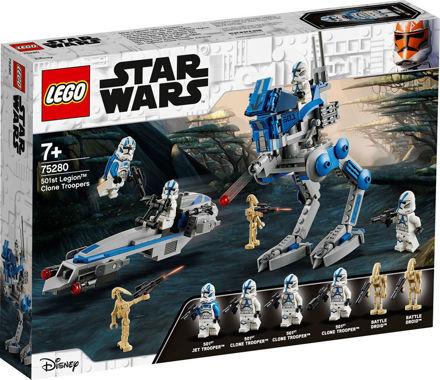 LEGO Star Wars 75280 Klonsoldater fra 501. legion
