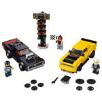 LEGO Speed Champions 75893 2018 Dodge Challenger SRT Demon og 1970 Dodge Charger R/T
