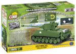 WWII COBI-2705 M4A3E8 Sherman