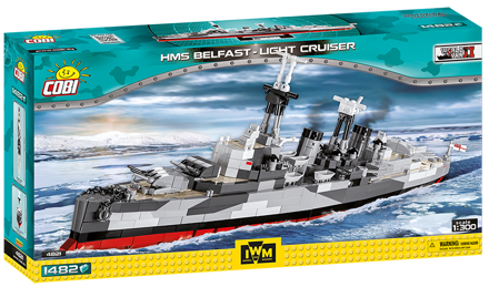 COBI WW2 4821 - HMS Belfast Light Cruiser