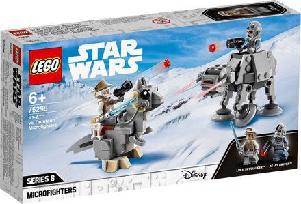 LEGO Star Wars 75298 AT-AT mod tauntaun Microfighters