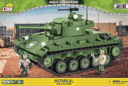 COBI WW2 2543 - M24 Chaffee