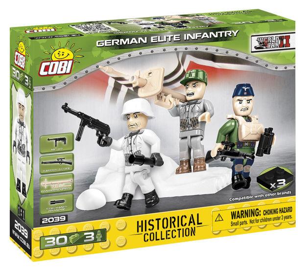 Cobi Small Army WW2 2039 - German Elite Infantry