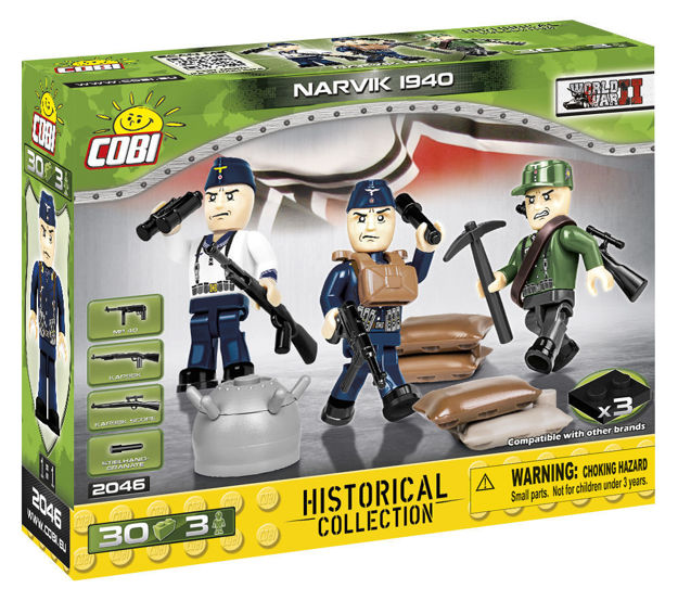 Cobi Small Army WW2 2046 - Narvik 1940