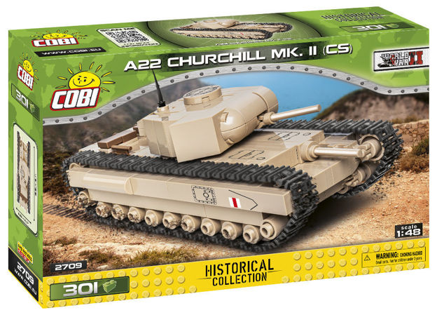 WWII COBI-2709 A22 Churchill Mk. II CS