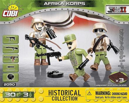 Cobi Small Army WW2 2050- Afrika Korps