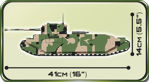 COBI WW2 2544 - British TOG II Super heavy tank