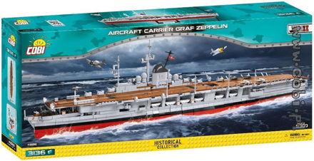 COBI WWII 4826 Aircraft Carier Graf Zeppelin