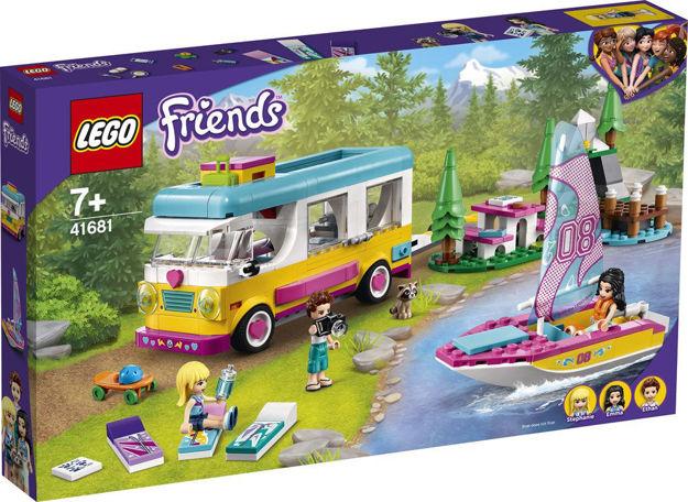 LEGO Friends 41681 Skov-autocamper og sejlbåd