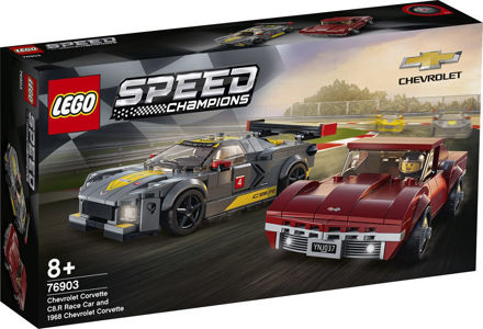 LEGO Speed Champions 76903 Chevrolet Corvette C8.R-racerbil og 1968 Chevrolet Corvette
