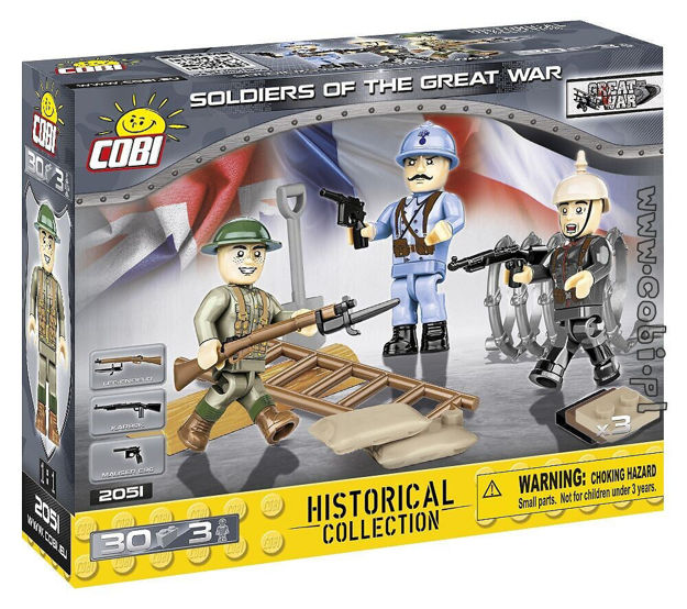 Cobi Small Army WW1 2051 - Soldiers of The Great War