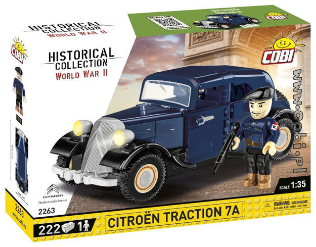 Cobi WW2 2263 1934 Citroën Traction 7A