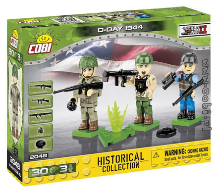 Cobi 2048 - US Army D-Day 1944