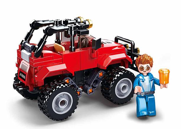 Sluban M38-B0902 - Red SUV