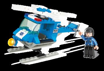 Billede af Politi Helikopter,Sluban Police Helicopter M38-B0175