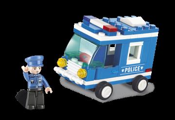 Politibil, Sluban Police Van M38-B0177