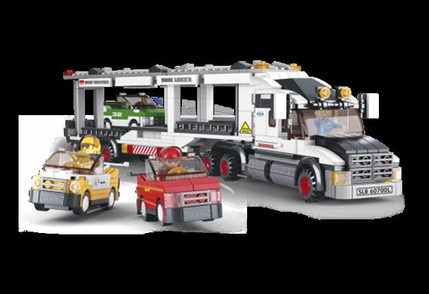 Bild på Biltransporter, Sluban Car Transporter M38-B0339