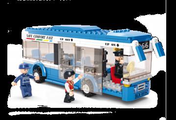 Bus,Sluban Bus M38-B0330