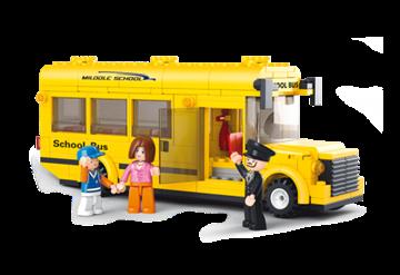 Skolebus,Sluban School Bus M38-B0507